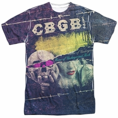 CBGB Shirt Torn Sublimation Shirt