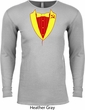 CCCP Basic Tuxedo Thermal Shirt