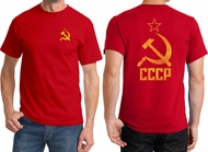 CCCP Front & Back Shirts