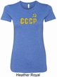 CCCP Insignia Ladies Longer Length Shirt