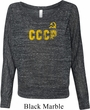 CCCP Insignia Ladies Off Shoulder Shirt