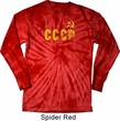 CCCP Insignia Long Sleeve Tie Dye Shirt