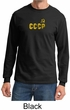 CCCP T-shirt Soviet Union USSR Russia Insignia Long Sleeve Shirt