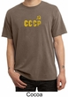 CCCP T-shirt Soviet Union USSR Russia Insignia Pigment Dyed Tee Shirt