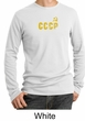 CCCP T-shirt Soviet Union USSR Russia Insignia Thermal Shirt