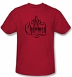 Charmed Kids Shirt Charmed Logo Youth Red T-shirt