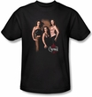 Charmed Shirt Three Hot Witches Black T-shirt