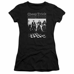 Cheap Trick Juniors Shirt Bikes Black T-Shirt