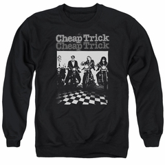Cheap Trick Sweatshirt Bikes Adult Black Sweat Shirt