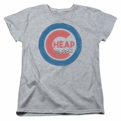 Cheap Trick Womens Shirt Cub 3 Athletic Heather T-Shirt