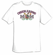 Cheerleading Mom Sport Adult T-shirt Tee Shirt