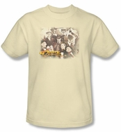 Cheers Cream Adult T-shirt - Opening Distressed Graphic