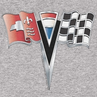 Chevy 2ND Gen Vette Nose Emblem T-shirts