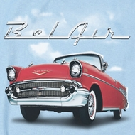 Chevy Bel Air Clouds T-shirts