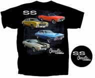 Chevy Chevelle SS T-shirt - Bad SS Adult Tee Shirt