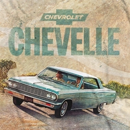 Chevy Chevrolet Chevelle SS Sublimation T-shirts