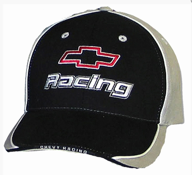 7a45bb0b706 Chevy Chevrolet Racing Hat - Fine Embroidered Cap - Chevy Hats Cap