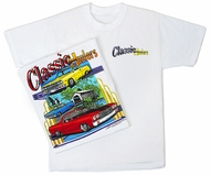 Chevy Classic Haulers T-Shirt - Collector's Adult White Tee