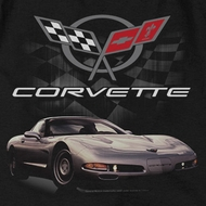 Chevy Corvette Checkered Past T-shirts