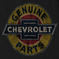 Chevy Genuine Parts Distressed Sign T-shirts