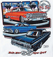 Chevy Impala T-shirts