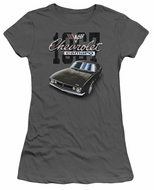 Chevy Juniors Shirt Chevrolet Classic Camaro Charcoal T-Shirt