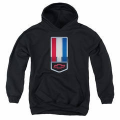 Chevy Kids Hoodie 1998 Camaro Nameplate Black Youth Hoody