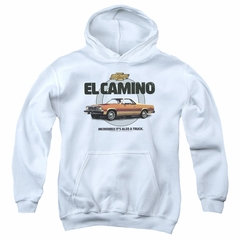 Chevy Kids Hoodie Also A Truck White Youth Hoody