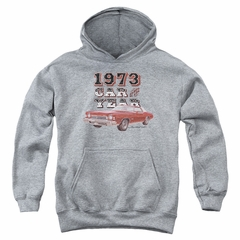 Chevy Kids Hoodie Car Of The Year Sports Grey Youth Hoody