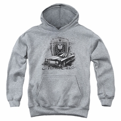 Chevy Kids Hoodie Monte Carlo Sports Grey Youth Hoody