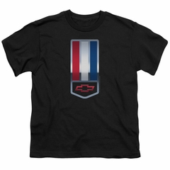 Chevy Kids Shirt 1998 Camaro Nameplate Black T-Shirt