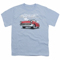Chevy Kids Shirt Bel Air Clouds Light Blue T-Shirt