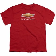 Chevy Kids Shirt Bow Tie Red T-Shirt