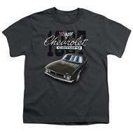 Chevy Kids Shirt Chevrolet Classic Camaro Charcoal T-Shirt