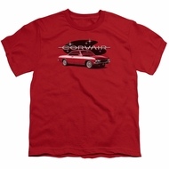 Chevy Kids Shirt Corvair Spyda Coupe Red T-Shirt