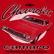 Chevy Retro Camaro Shirts