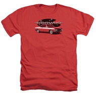 Chevy Shirt Corvair Spyda Coupe Heather Red T-Shirt