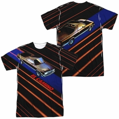 Chevy Shirt El Camino Sublimation Shirt Front/Back Print