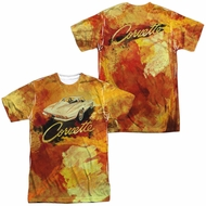 Chevy Shirt Painted Stingray Sublimation Shirt Front/Back Print