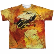 Chevy Shirt Painted Stingray Sublimation Youth Shirt