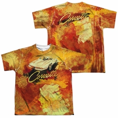 Chevy Shirt Painted Stingray Sublimation Youth Shirt Front/Back Print