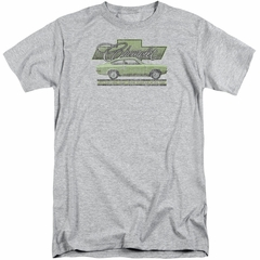 Chevy Shirt Vega Car Of The Year 71 Tall Athletic Heather T-Shirt