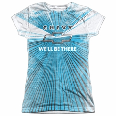 Chevy Shirt We'll Be There Sublimation Juniors Shirt