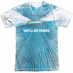 Chevy Shirt We'll Be There Sublimation Shirt