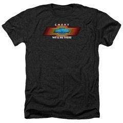 Chevy Shirt We'll Be There TV Spot Heather Black T-Shirt
