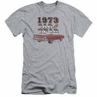 Chevy Slim Fit Shirt Car Of The Year Sports Grey T-Shirt