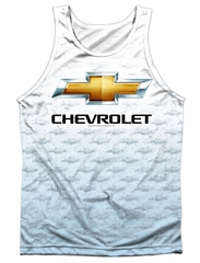 Chevy Tank Top Chevrolet Logo 2 Sublimation Tanktop