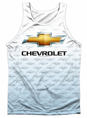 Chevy Tank Top Chevrolet Logo 2 Sublimation Tanktop Front/Back Print