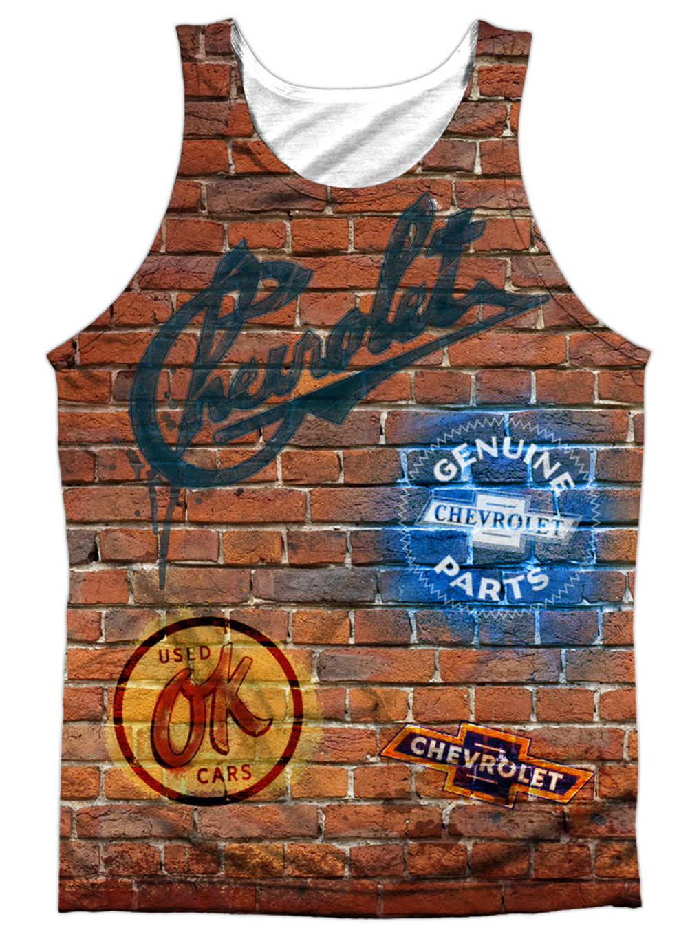 Chevy Tank Top Chevrolet Wall Sublimation Tanktop T Shirts