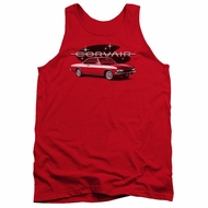 Chevy Tank Top Corvair Spyda Coupe Red Tanktop